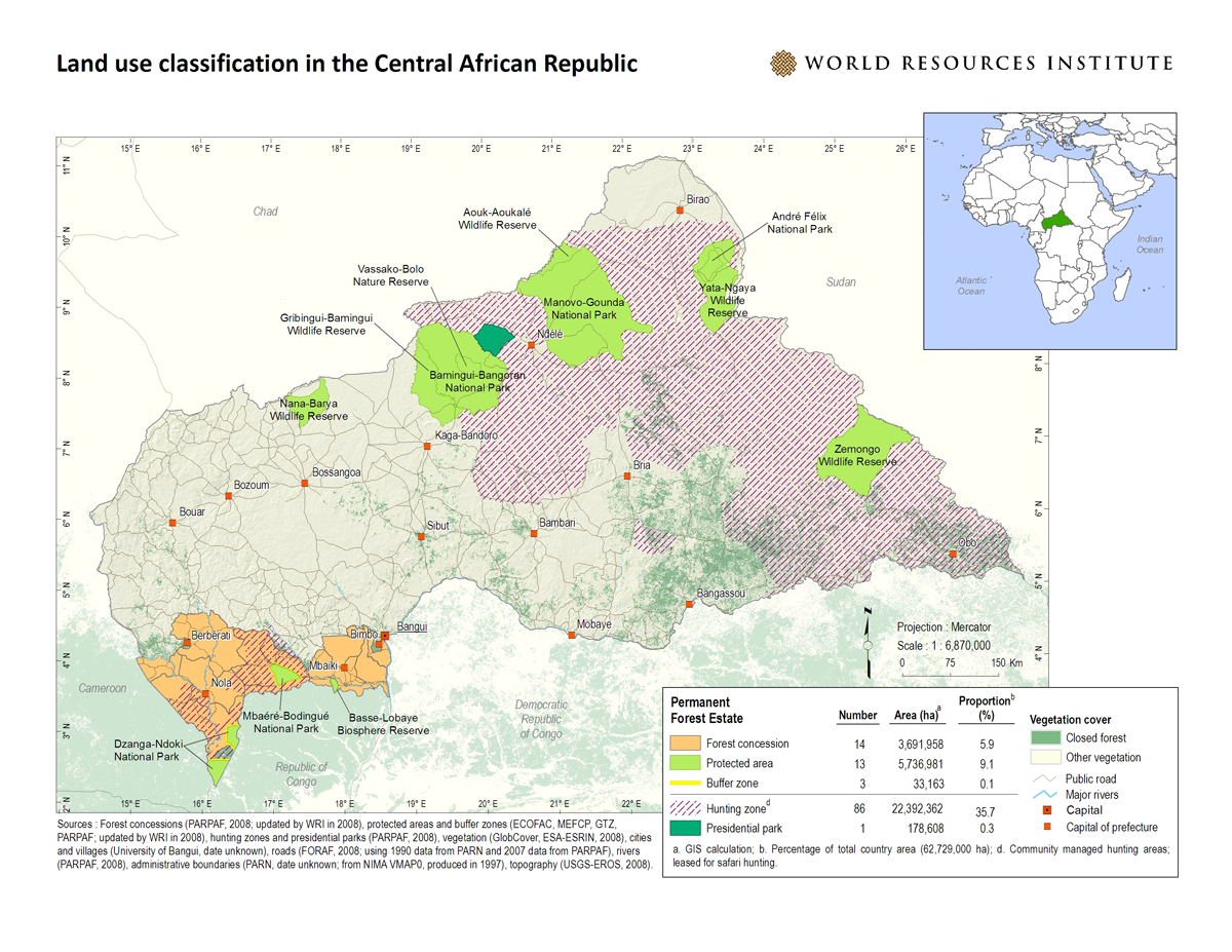 Central African Republic | World Resources Institute