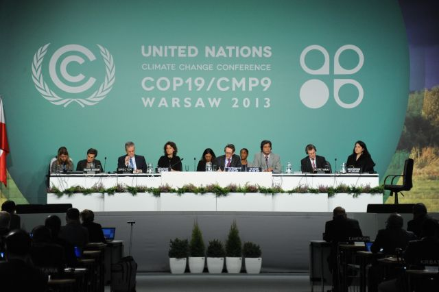 """At COP19, negotiators should decide how climate funding is """"balanced"""" between adaptation and mitigation. Credit: UNclimatechange, Flickr"""