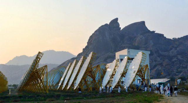 Solar project in India. Flickr/Brahma Kumaris