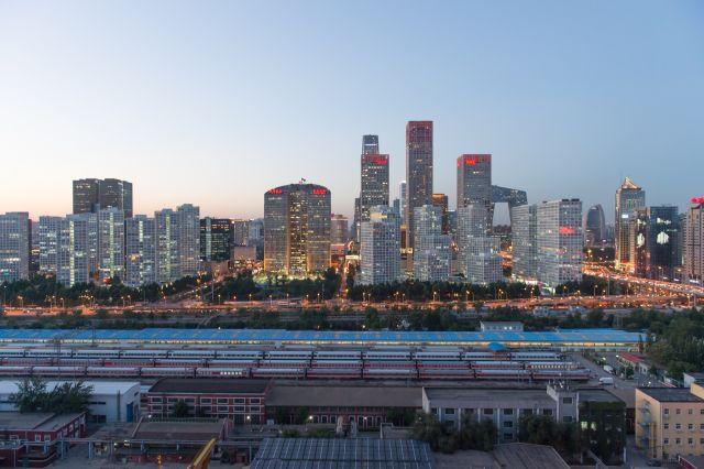 Beijing skyline in the evening. (Flickr/Jens Schott Knudsen)