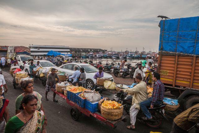 Fish market in Mumbai. Flickr/sandeepachetan.com