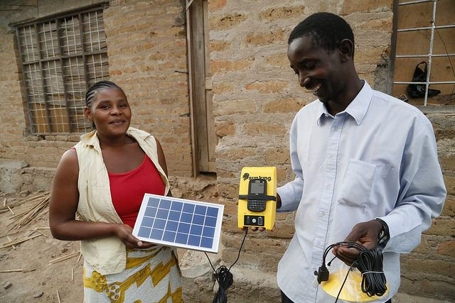 sales agents for solar power systems in Tanzania