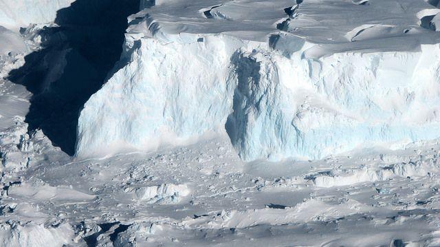 Thwaites Glacier in West Antarctica