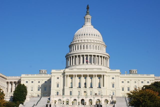 U.S. Capitol, where Congress' budget presents some complications for climate finance. Flickr/Adam Fagen