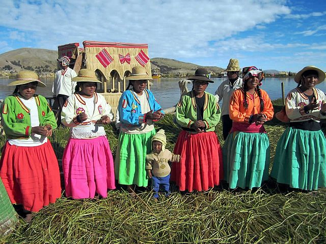 Indigenous community in Peru