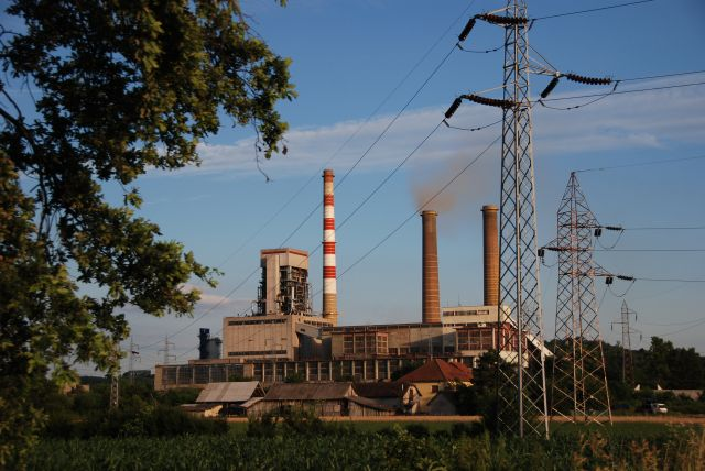 Kolubara A thermal power plant in Serbia. Flickr/Bankwatch
