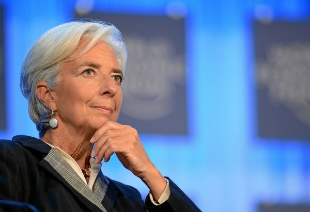 Christine Lagarde, head of IMF. Flickr/World Economic Forum