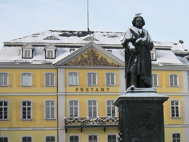 Beethoven statue in Bonn