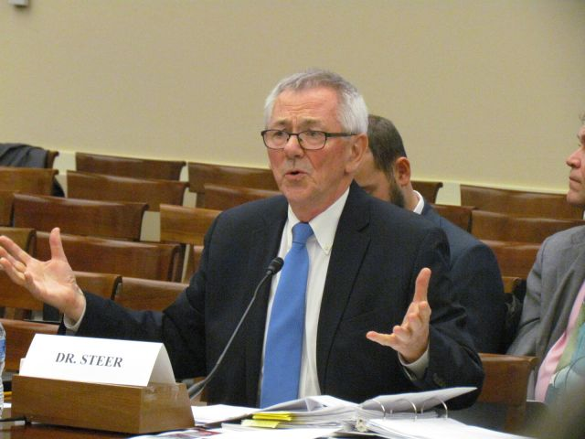 WRI President and CEO Dr. Andrew Steer testifies before the House Committee on Science, Space and Technology.