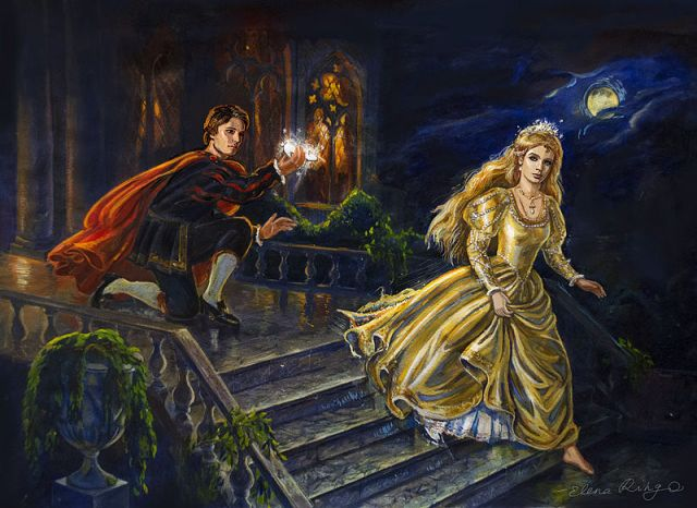Elena Ringo's Illustration of Cinderella