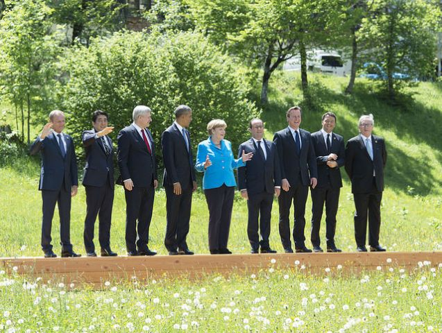 G7 2015. Photo by Palazzo Chigi/Flickr.