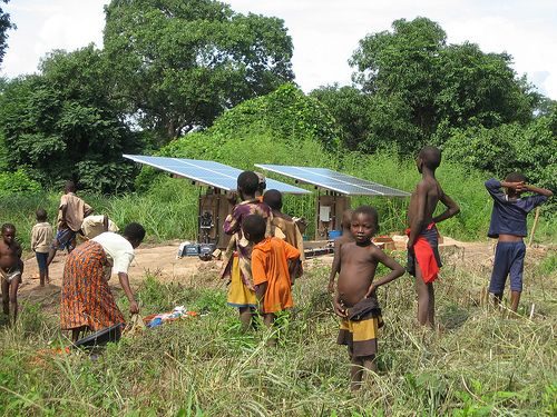 The Green Climate Fund aspires to become the main, global fund for providing climate change finance, contributing to activities like the expansion of renewable power. Photo credit: Solar Electric Light Fund, Flickr