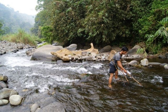 The longest river in East Java.
