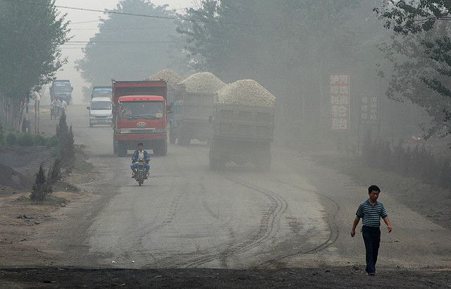 China's persistent smog prompted the State Council to announce an Air Pollution Control Action Plan. Photo credit: sheilaz413, Flickr