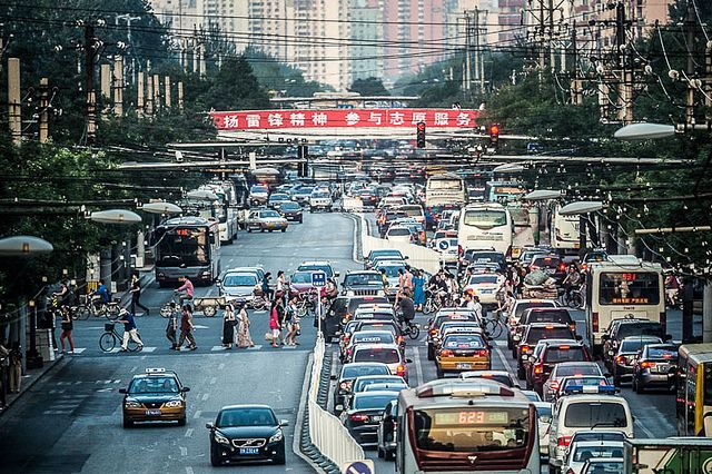 China currently ranks as world's largest emitter of greenhouse gases. Photo by Ding Zhou/Flickr