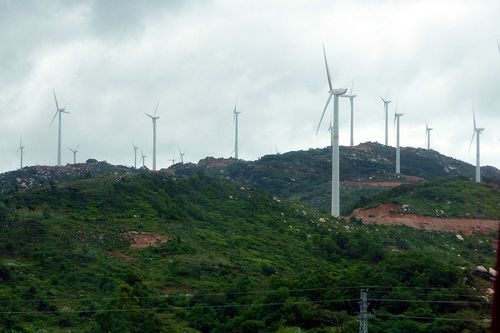 China wind turbines