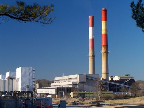 Power plants account for one-third of U.S. greenhouse gas emissions. Photo credit: Mike, Flickr