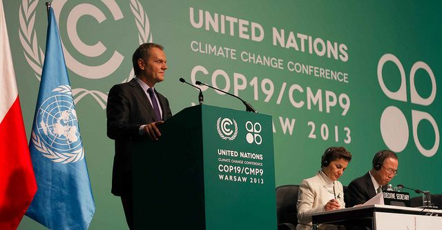 This is the final week of COP 19 in Warsaw, Poland. Photo credit: Kancelaria Premiera, Flickr
