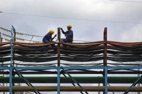 A thermal power station in Takoradi, Ghana. Photo credit: Jonathan Ernst, World Bank