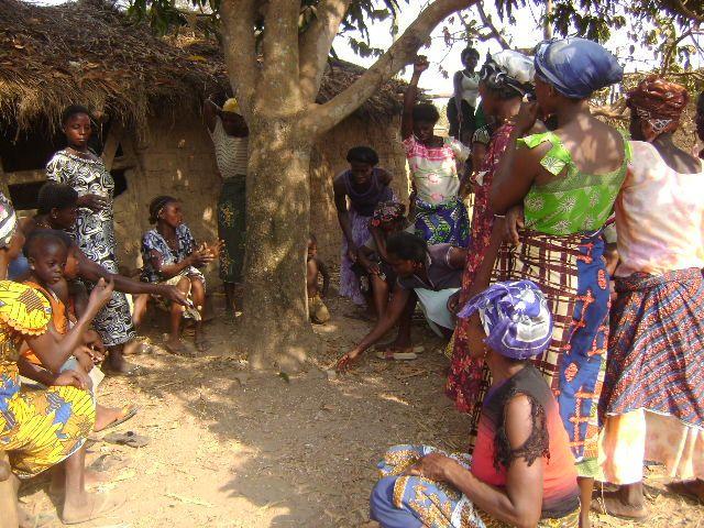 A community meeting in Ghana. Photo by waterdotorg/Flickr