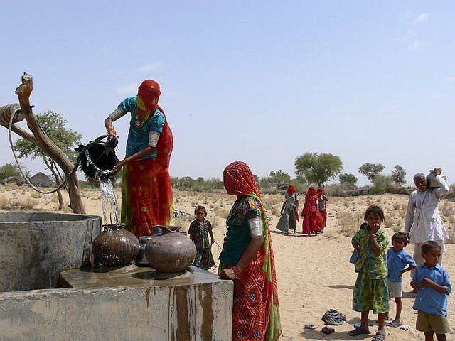 In India more than 100 million people live in areas of poor water quality. Photo by Sambhaav Trust/Flickr.