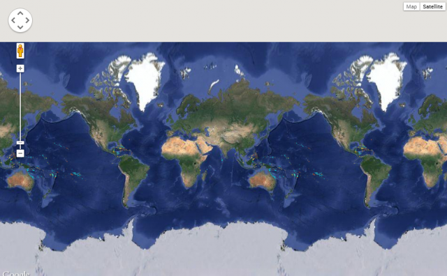 Online global reefs map world resources institute online global reefs map gumiabroncs Images