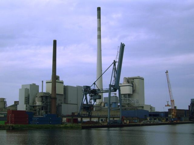 Power plant in Germany
