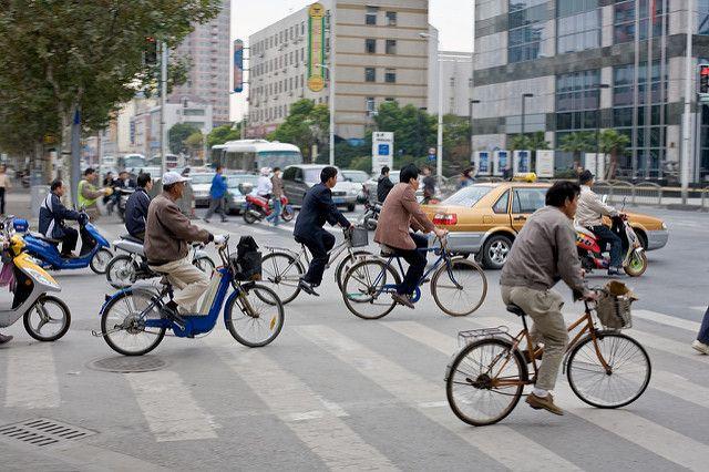 Bicycles in Shanghai
