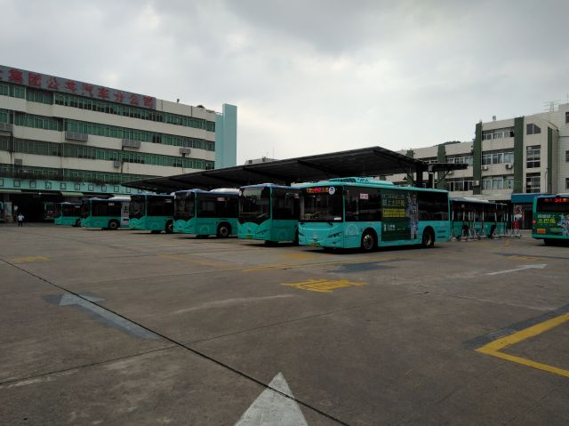 Electric buses in China