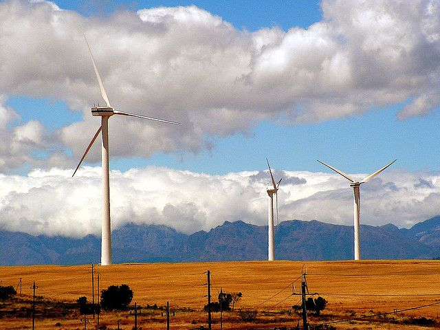 When it comes to renewable energy, South Africa has considerable, unrealized potential. Photo credit: Lollie-Pop/Flickr