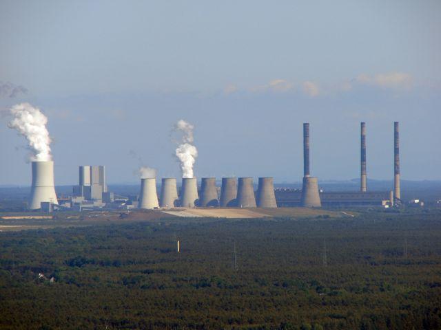 Smokestacks at Vattenfall in Germany. Wikimedia/Derganaue