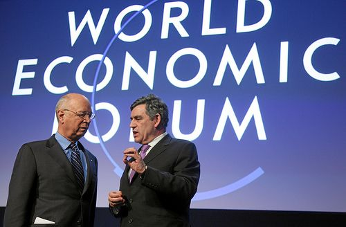 """For the first time, the World Economic Forum hosted an official """"Climate Day."""" Photo credit: Andy Mettler, World Economic Forum"""