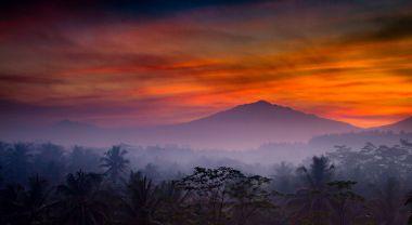 Sunrise over Mount Merapi in Java. Flickr/Paul Williams