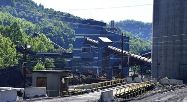 Pocahontas coal plant in Eastgulf, West Virginia.