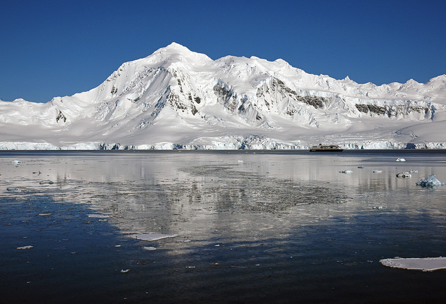 <p>Antarctica is melting faster than previously thought. Photo by Harvey Barrison/Flickr</p>