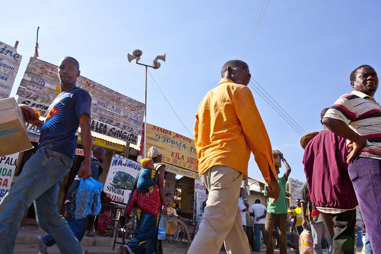 <p>Bus stop in Dodoma, Tanzania. Flickr/Massimiliano</p>