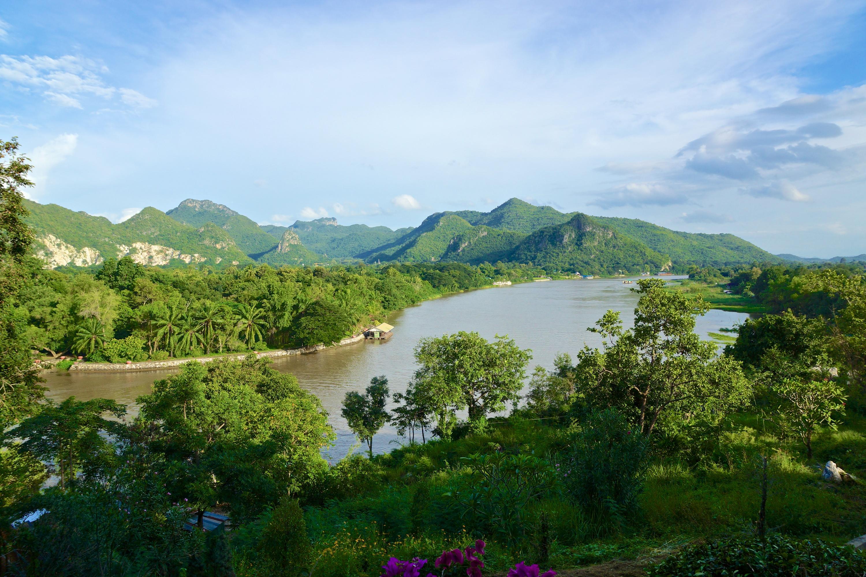 <p>Aerial view of Thailand forest. Photo by Uwe Schwarzbach/Flickr</p>
