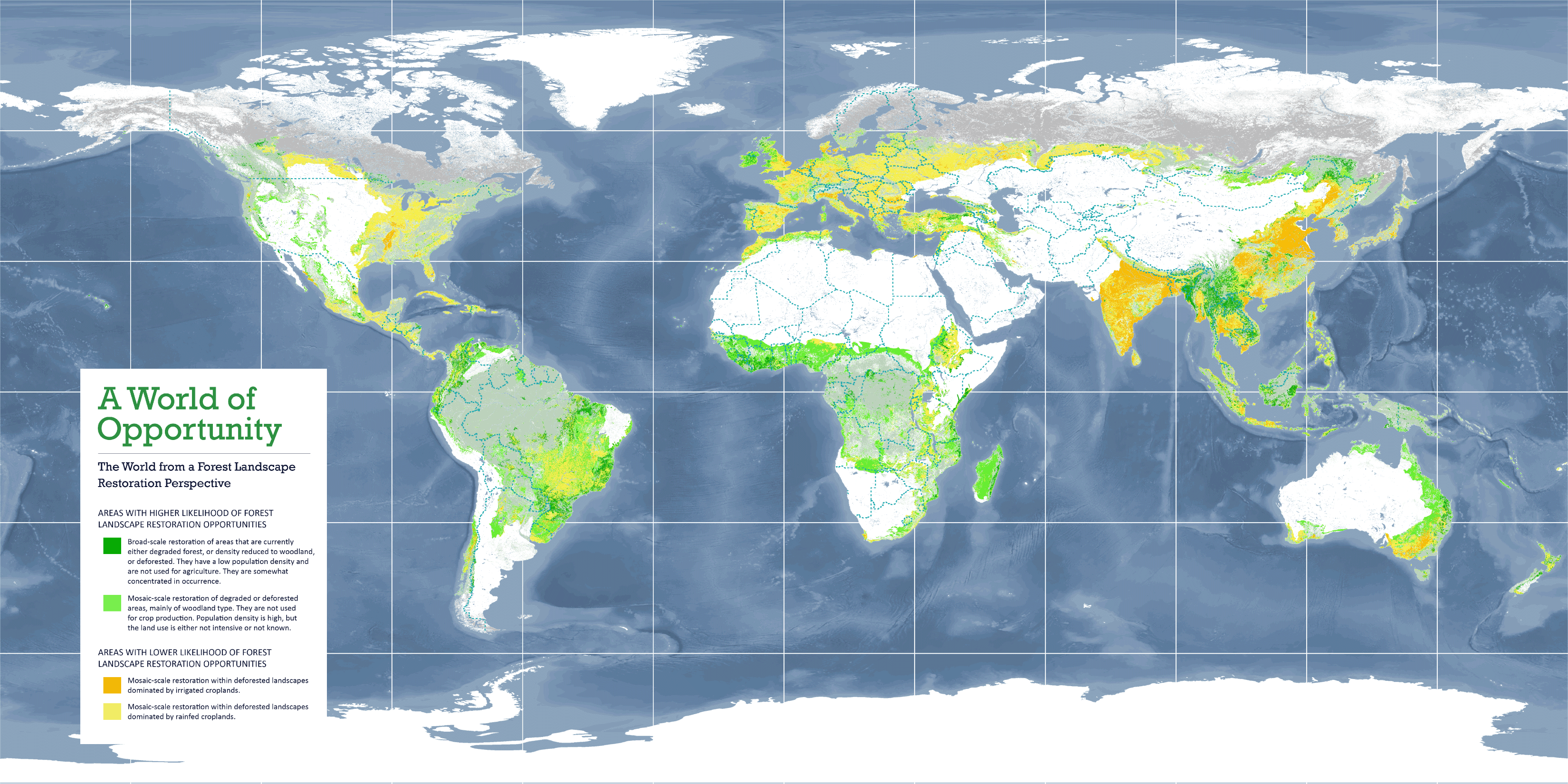 <p>The World from a Forest Landscape Restoration Perspective</p>