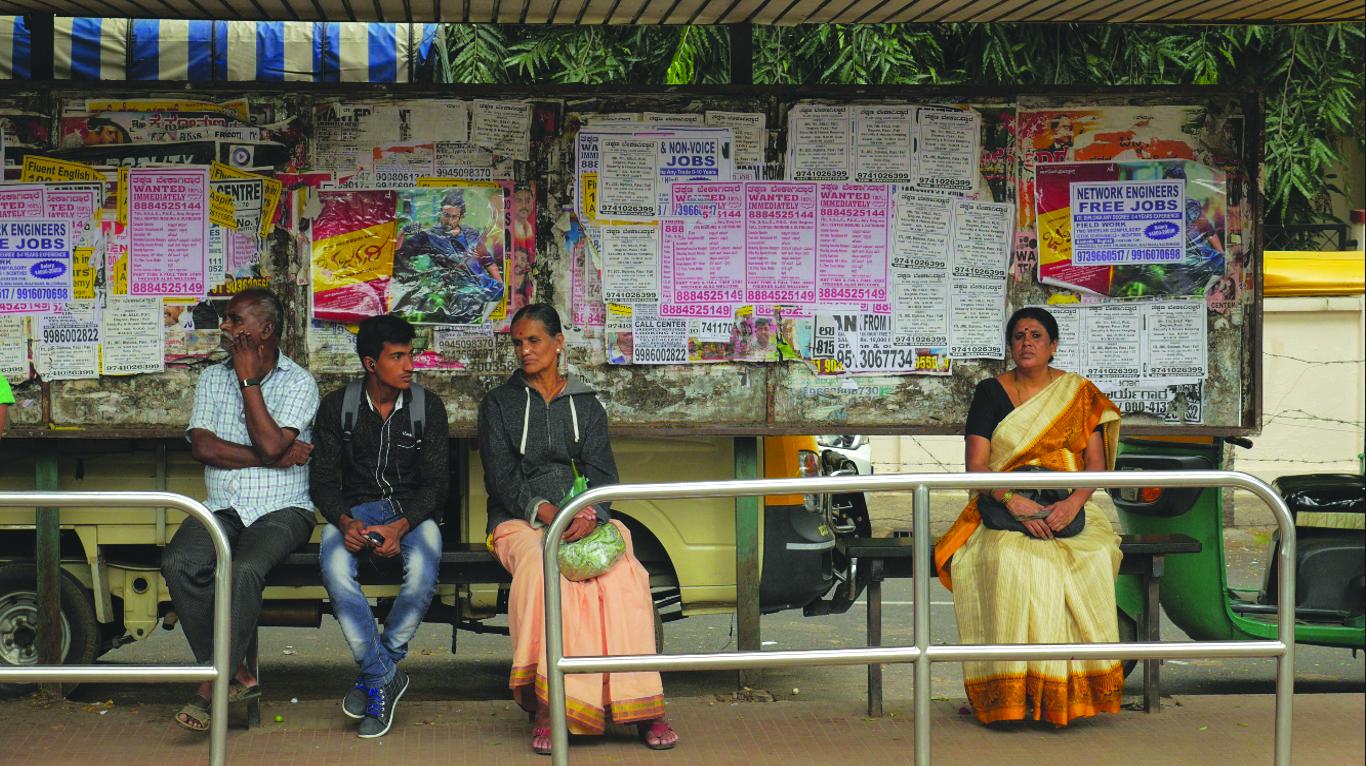 <p>Suvarna Reddy of Bangalore. Photo by Bhargav Shandilya and Tariq Thekaekara</p>
