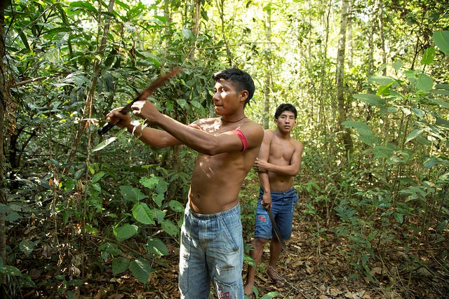 <p>Indigenous people manage many of Amazonia\'s forests. Photo by WRI/Flickr</p>