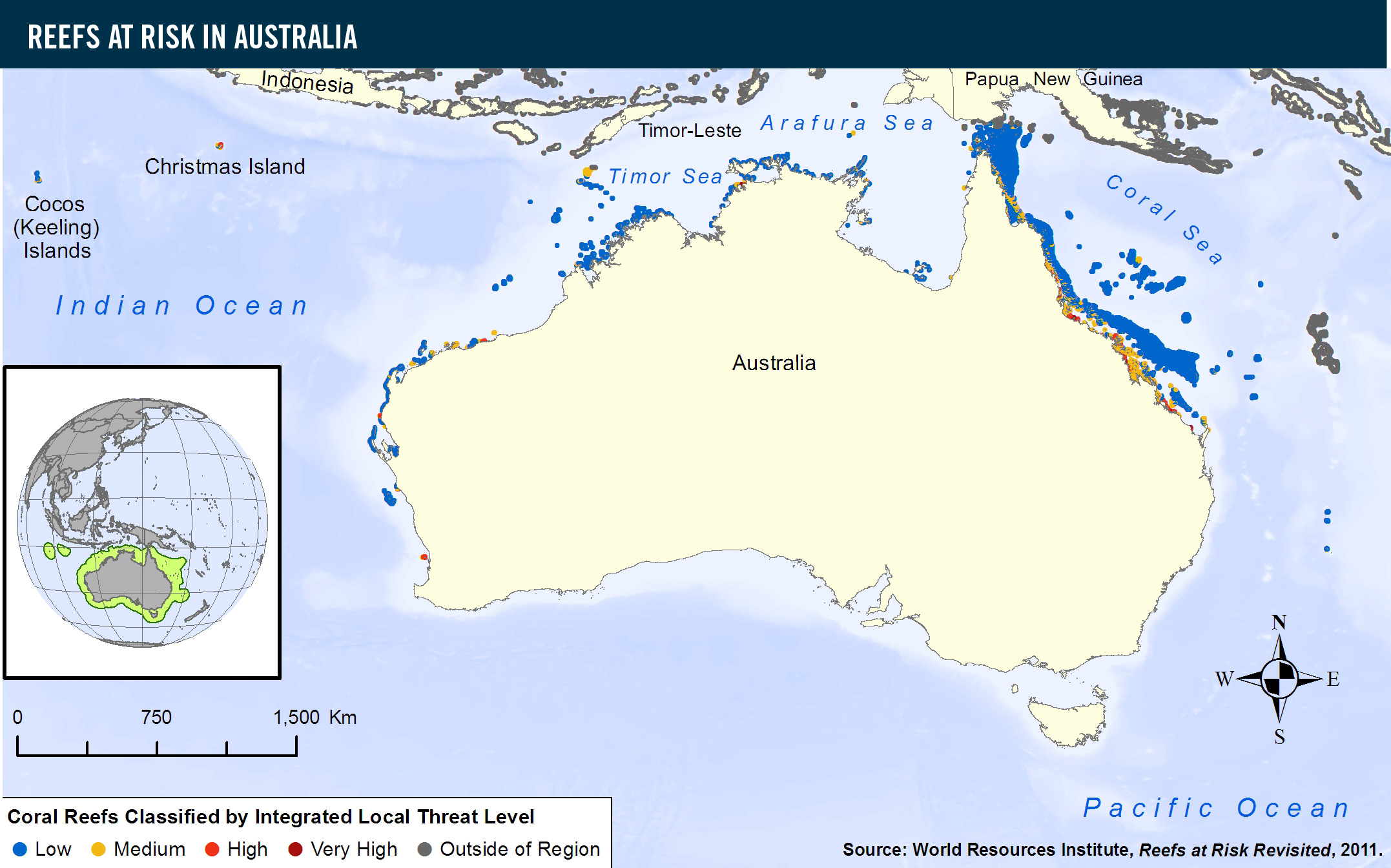 Reefs at Risk in Australia | World Resources Institute