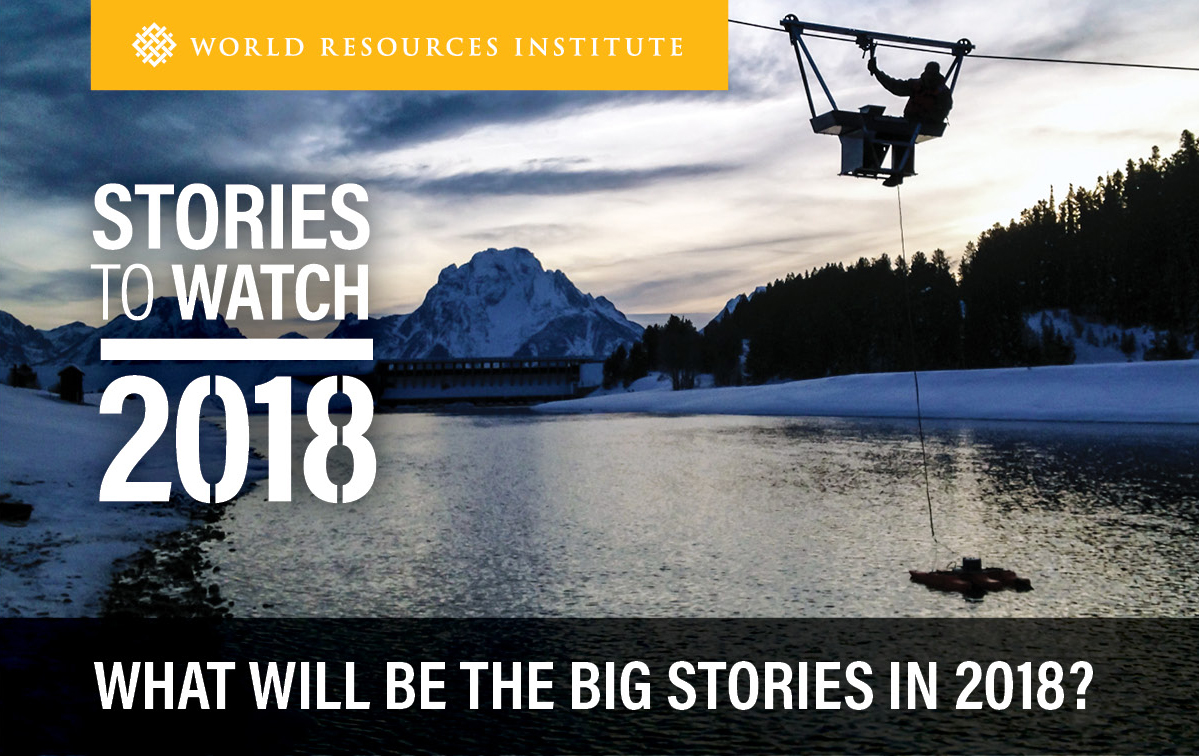 Stories to Watch 2018