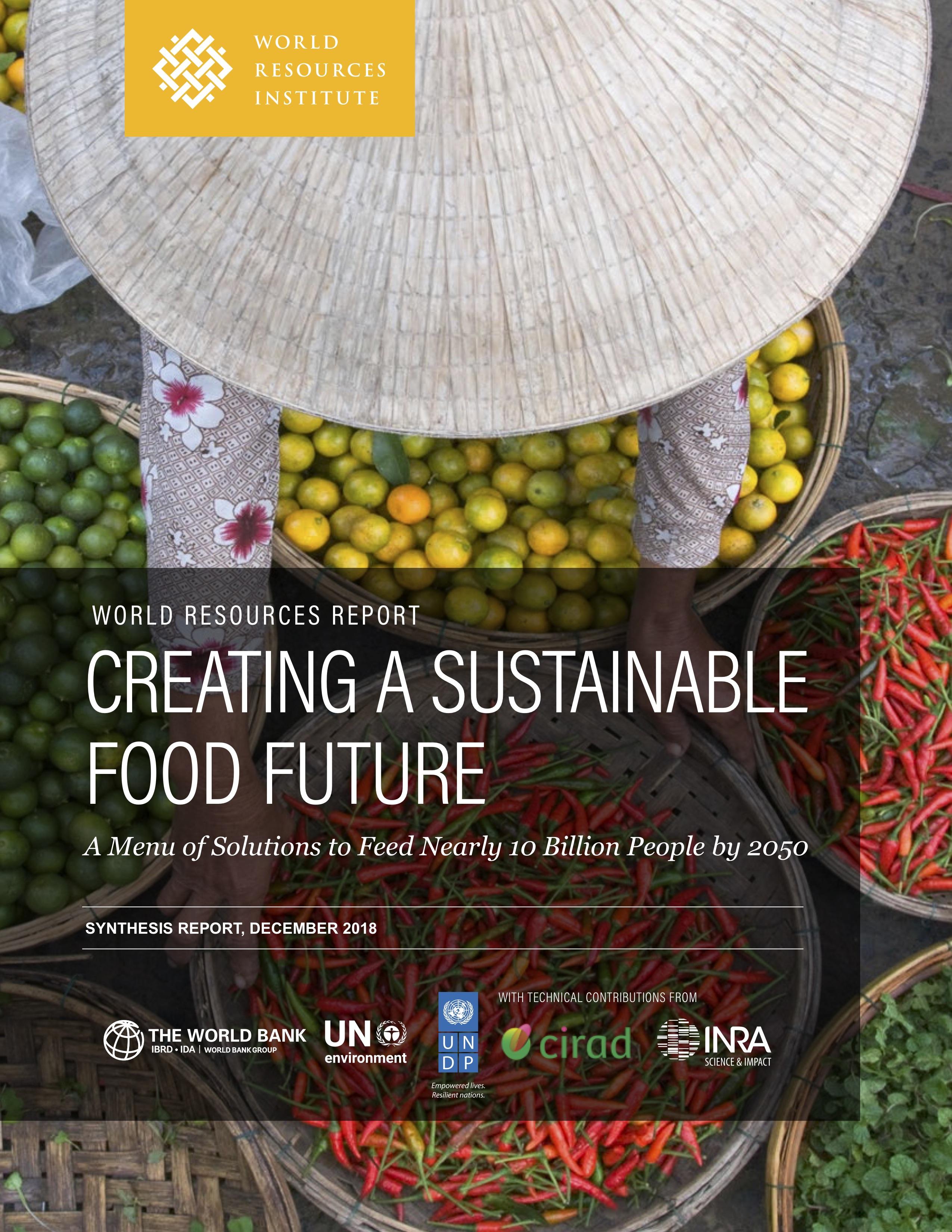 wri.org - Creating a Sustainable Food Future