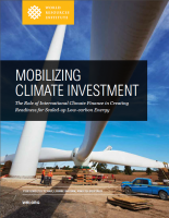 <p>Download the full publication, <em>Mobilizing Climate Finance: The Role of International Climate Finance in Creating Readiness for Scaled-Up, Low-Carbon Energy</em></p>