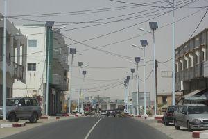 Street in Nouakchott, Mauritânia