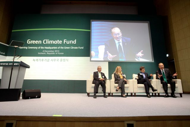 This week, the Green Climate Fund (GCF) celebrated the official opening of its headquarters in Songdo, Korea. Photo credit: World Bank, Flickr