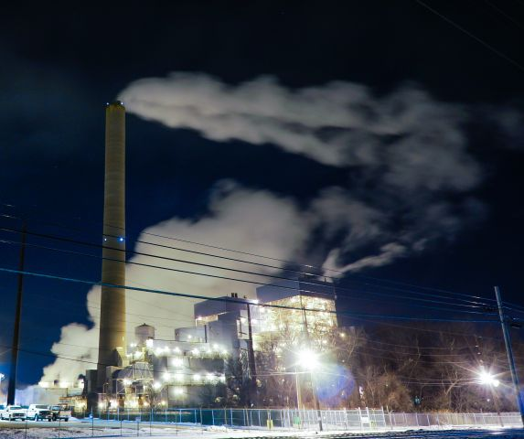 A coal plant in New Jersey. Flickr/Peter A Harrison