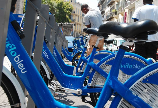 Bikesharing is part of the paradigm shift in urban mobility. (Flickr/WRI Ross Center for Sustainable Cities)