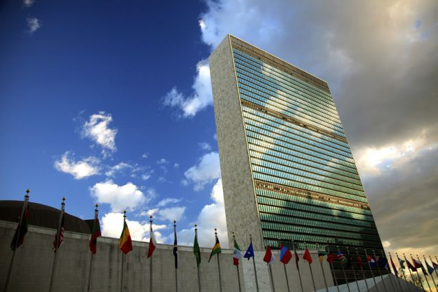 United Nations building in New York. Flickr/UNAMA