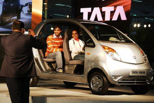 The Tata Nano Released At Last Blessing Or Curse World Resources